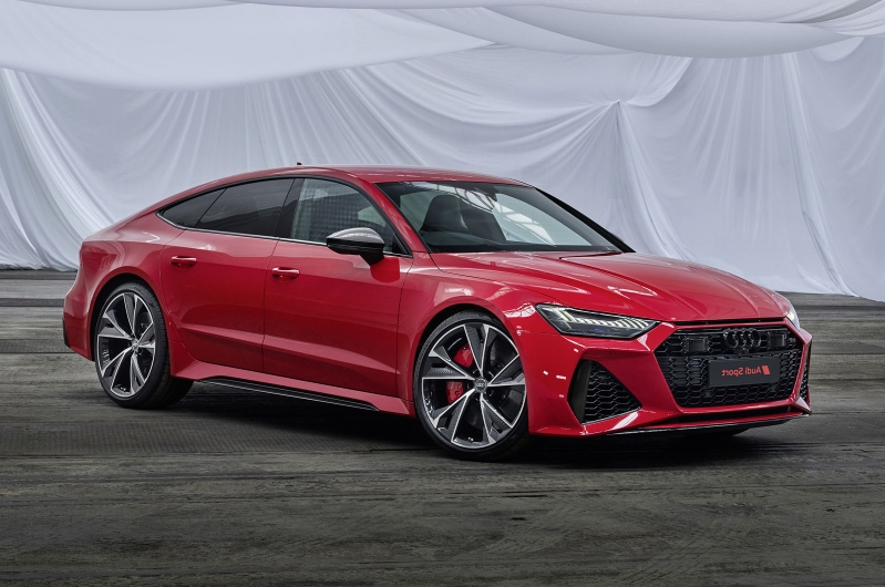 New Audi RS7 receives redesign and 591bhp V8
