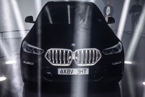The Vantablack BMW X6 dons a slightly darker black