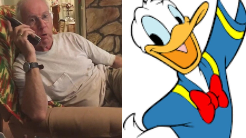 This Man's Amazing Donald Duck Impression Got a Telemarketer to Hang Up on Him