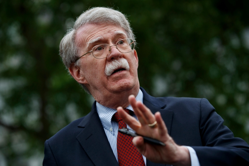 Trump fired Bolton before he started a war, and we should be grateful