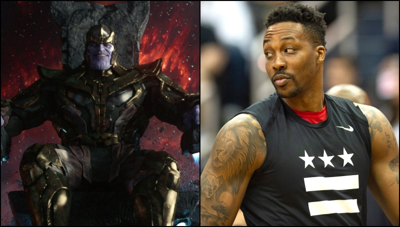 Dwight Howard says he's inspired by Thanos' ability to 'complete his mission' without emotion