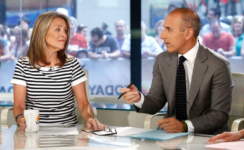 Meredith Vieira Opens Up About Learning of the Sexual Misconduct Allegations Against Matt Lauer
