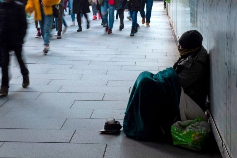 Number of homeless households in England reaches highest level for 10 years
