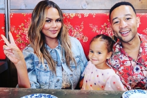 Chrissy Teigen, John Legend's Daughter Luna, 3, Describes Her 1st Crush