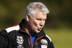 Danny Frawley remembered by long-time friend Garry Lyon in emotional radio return