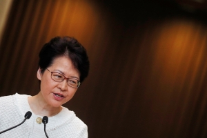 Hong Kong leader to prioritize housing, livelihoods to appease protesters