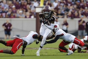 No. 16 Texas A&M rolls past Lamar as SEC play looms