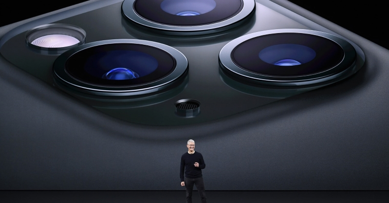 Apple is becoming a camera company