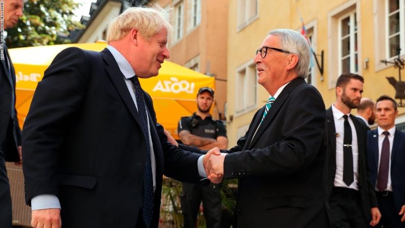 Boris Johnson and Jean-Claude Juncker meeting 'constructive,' says UK government