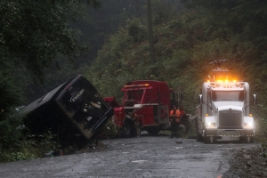 Two dead, numerous injuries: Remote Vancouver Island logging road known for safety issues