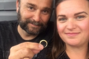 'Amazing' coincidence reunites couple with lost wedding ring 11 years later