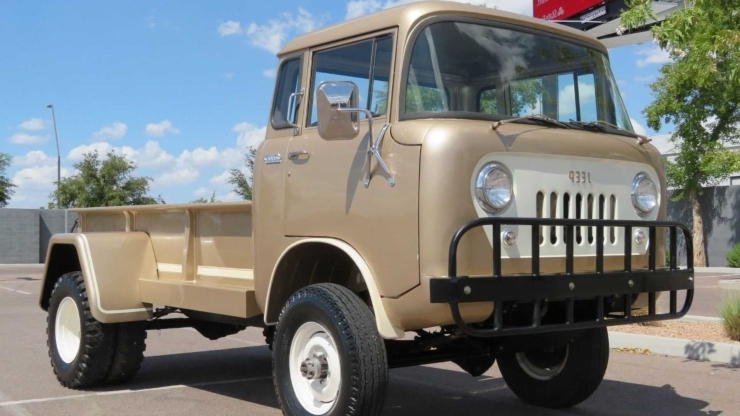 Buy A 1960 Jeep FC-170 DRW Forward Control