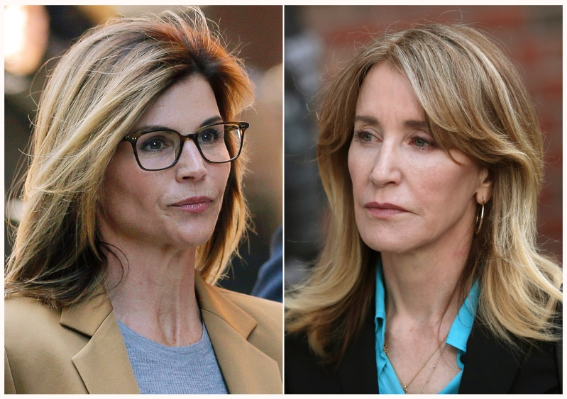 Felicity Huffman prison sentence impacting Lori Loughlin's strategy?