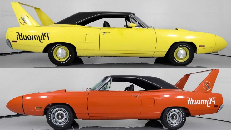 Pair Of Rare 'Birds: Two 1970 Plymouth Superbirds Up For Sale