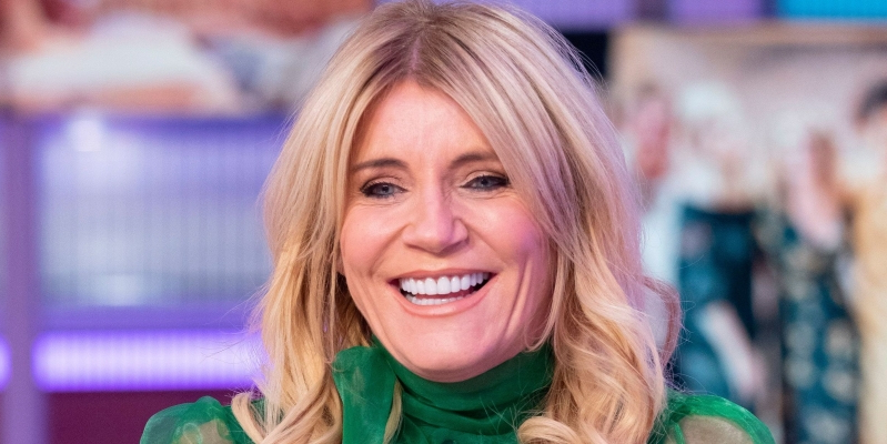Michelle Collins smiling for the camera: Coronation Street actress Michelle Collins was asked to take part in Strictly Come Dancing years ago but turned it down.