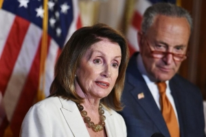 Nancy Pelosi calls for law to be able to indict presidents