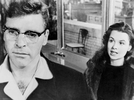 Slide 117 of 163: American actors Susan Harrison and Burt Lancaster on the set of Sweet Smell of Success, directed by Alexander Mackendrick. (Photo by United Artists/Sunset Boulevard/Corbis via Getty Images)