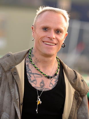 Slide 120 of 163: Keith Flint at the 2009 Glastonbury Festival at Worthy Farm in Pilton, Somerset.   (Photo by Anthony Devlin - PA Images/PA Images via Getty Images)