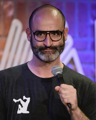 Slide 127 of 163: HOLLYWOOD, CA - APRIL 10:  Comedian Brody Stevens performs during his attendance at the 4th Annual Laugh For Sight L.A. All-Star Comedy Benefit  at The Hollywood Improv on April 10, 2014 in Hollywood, California.  (Photo by Michael Schwartz/Getty Images)