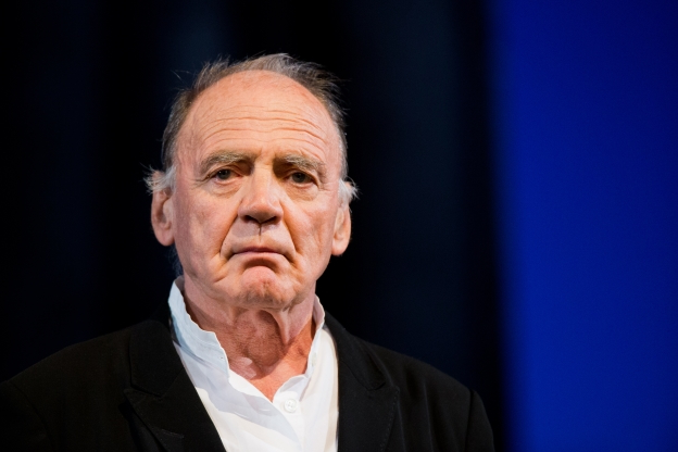 Slide 130 of 163: Swiss actor Bruno Ganz poses at the international literature festival lit.Cologne in Cologne, Germany, 18 March 2014. Photo: Rolf Vennenbernd/dpa | usage worldwide   (Photo by Rolf Vennenbernd/picture alliance via Getty Images)