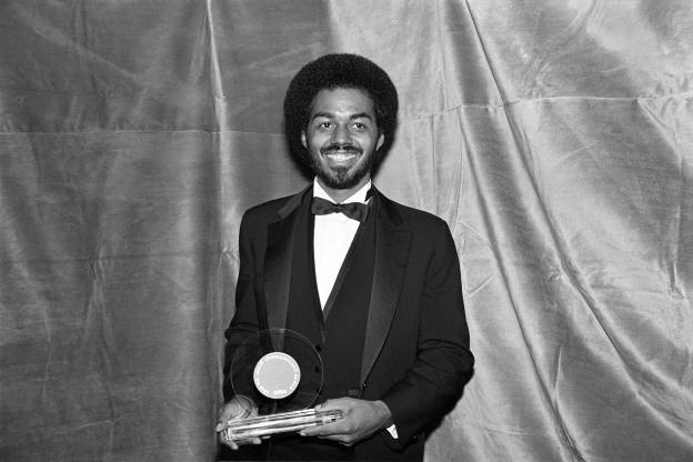 Slide 141 of 163: James Ingram at the Frankie Crocker Awards at The Savoy in New York City on January 21, 1983. (Photo by Ebet Roberts/Redferns)