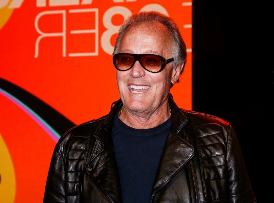 Slide 15 of 163: HAMBURG, GERMANY - SEPTEMBER 06: US actor Peter Fonda during the tv show 'Gottschalks grosse 68er Show' on September 6, 2018 in Hamburg, Germany. (Photo by Isa Foltin/Getty Images)