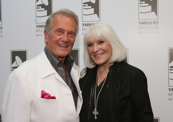 Slide 151 of 163: LOS ANGELES, CA - JUNE 02:  Shirley Boone and singer Pat Boone attend An Evening With Pat Boone at The GRAMMY Museum on June 2, 2015 in Los Angeles, California.  (Photo by Rebecca Sapp/WireImage)