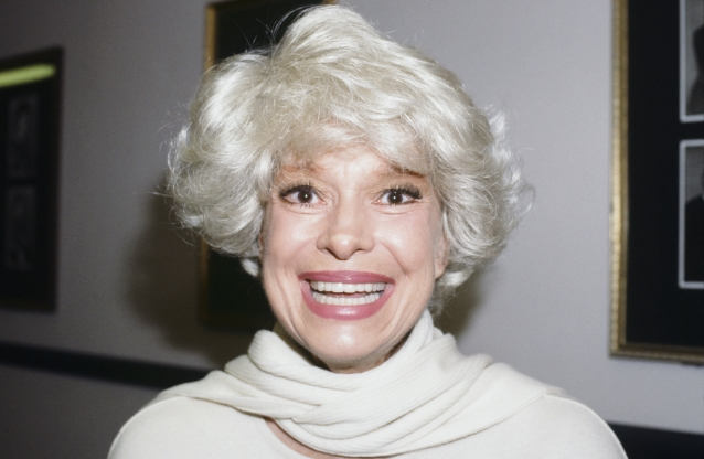 Slide 153 of 163: CAROL CHANNING -- Pictured: Actress Carol Channing in 1989 -- (Photo by: JD Dabrowski/NBC/NBCU Photo Bank via Getty Images)