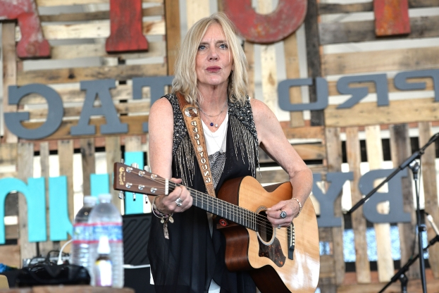 Slide 162 of 163: Singer Pegi Young performs onstage in the Toyota tent during day 1 of the Stagecoach Country Music Festival at The Empire Polo Club on April 24, 2015 in Indio, California.