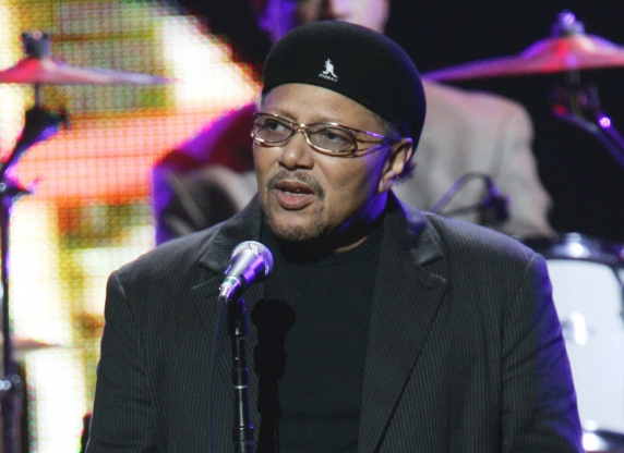 Slide 25 of 163: FILE - This Sept. 20, 2005 file photo shows singer Art Neville performing during the