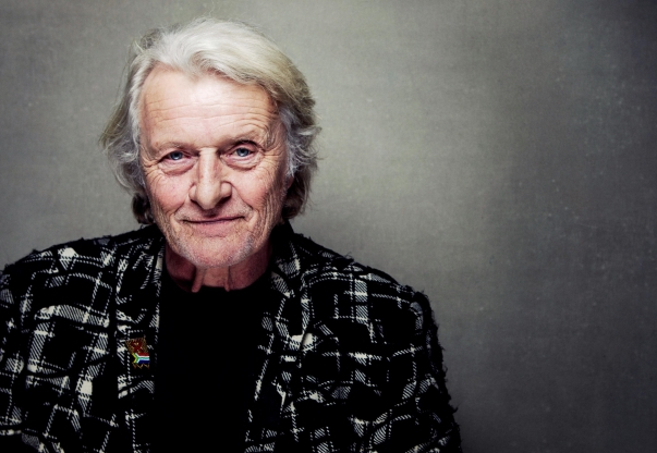 Slide 26 of 163: FILE - This Jan. 19, 2013 file photo shows actor Rutger Hauer at the Sundance Film Festival in Park City, Utah. Hauer, who specialized in menacing roles, including a memorable turn as a murderous android in