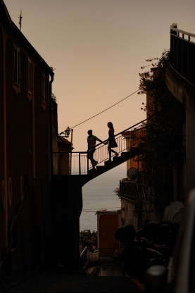 Slide 3 of 51: Photographed in Positano, Italy