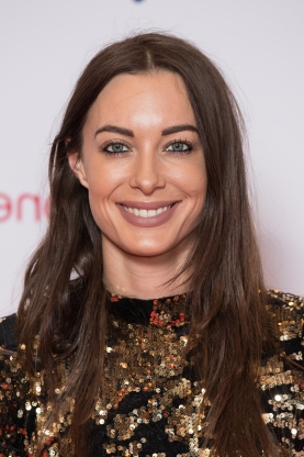 Slide 32 of 163: LONDON, ENGLAND - NOVEMBER 29: Emily Hartridge attends the Virgin Money Giving Mind Media Awards 2018 at Queen Elizabeth Hall on November 29, 2018 in London, England. (Photo by Jeff Spicer/Getty Images)