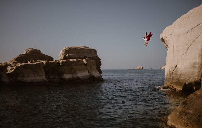 Slide 5 of 51: Photographed in Milos, Greece
