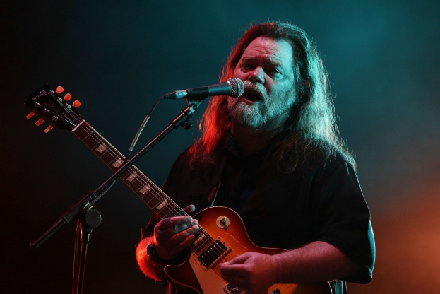 Slide 60 of 163: Roky Erickson performing on the Second Stage at the Wireless Festival in Hyde Park in central London.   (Photo by Yui Mok/PA Images via Getty Images)