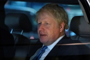 The Latest: British PM Boris Johnson rejects calls to resign