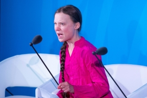 Trump slammed for trolling Greta Thunberg climate speech