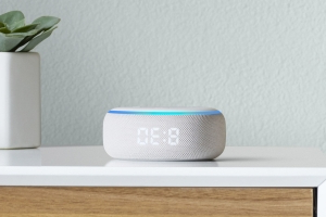 Amazon's new Echo Dot has a built-in clock