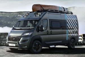 Peugeot Boxer 4x4 concept is one big overland camper van