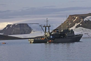 Walrus Sinks Russian Navy Boat in the Arctic Ocean After Attacking Vessel