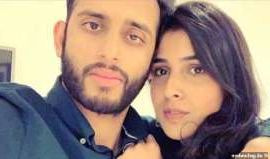 a person posing for the camera: Syeda Khola Adnan, 23, had her UK visa rejected as she allegedly took the wrong type of English IELTS test needed to move to Birmingham with British husband Azhar Saleem