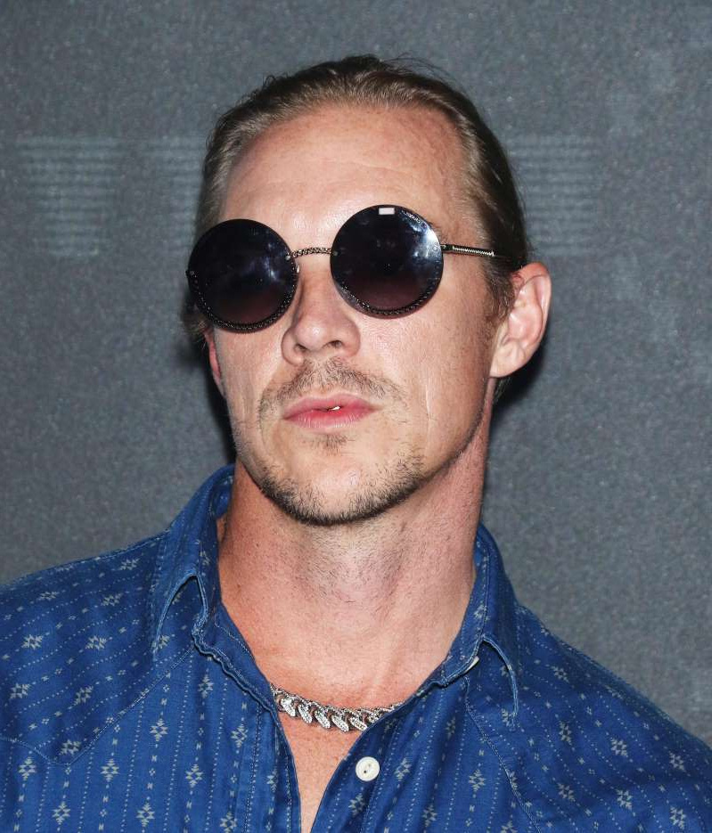Diplo wearing sunglasses