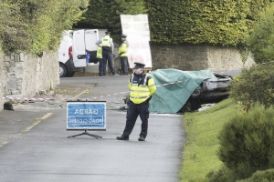 Man and nephew (12) killed, two other men seriously injured in 'horrific' car crash