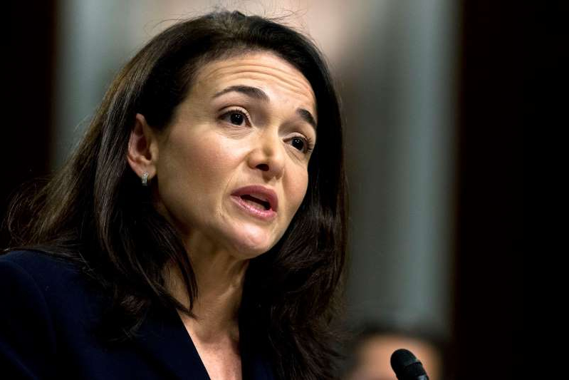 FILE- In this Sept. 5, 2018, file photo Facebook COO Sheryl Sandberg testifies before the Senate Intelligence Committee hearing on 'Foreign Influence Operations and Their Use of Social Media Platforms' on Capitol Hill in Washington. Facebook and civil rights group Color of Change are hosting a meeting Thursday, Sept. 26, 2019, in Atlanta to discuss problems around discrimination, racism and political deception on the site. Sandberg didn't directly respond to questions about the decision by Sherrilyn Ifill, president of the NAACP Legal Defense & Educational Fund, during a discussion by the two. (AP Photo/Jose Luis Magana, File): FILE- In this Sept. 5, 2018, file photo Facebook COO Sheryl Sandberg testifies before the Senate Intelligence Committee hearing on 'Foreign Influence Operations and Their Use of Social Media Platforms' on Capitol Hill in Washington. Facebook and civil rights group Color of Change are hosting a meeting Thursday, Sept. 26, 2019, in Atlanta to discuss problems around discrimination, racism and political deception on the site. Sandberg didn't directly respond to questions about the decision by Sherrilyn Ifill, president of the NAACP Legal Defense & Educational Fund, during a discussion by the two. (AP Photo/Jose Luis Magana, File)