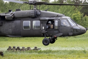 One killed, three wounded in Black Hawk helicopter crash in Louisiana
