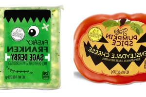 Aldi's Halloween-Themed Cheeses Need To Be On Your Halloween Party Menu