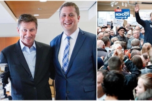 9 Photos Of Andrew Scheer That Show How He's Changed In The Spotlight