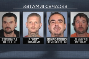 All 4 inmates who escaped from Gallia County Jail in Ohio captured