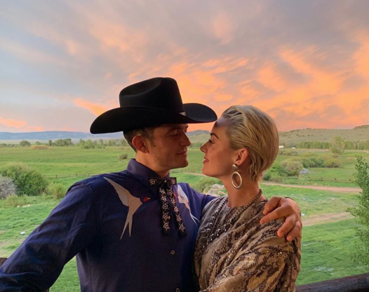"Slide 77 of 83: The engaged couple visited the all-inclusive resort, Brush Creek Ranch, in Saratoga, Wyoming, to celebrate their friend Karlie Kloss's wedding to Joshua Kushner. ""Wonderful weekend of being loved and celebrating love, congrats to a beautiful union,"" Bloom captioned a romantic image of himself and Perry."