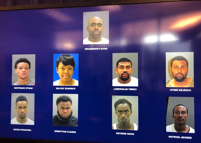 12 Charged After Baltimore Police Target 'Prime Time' Drug Ring In 6-Month Sting